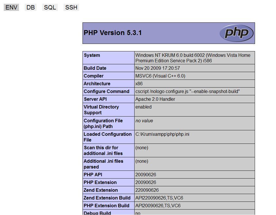 kctools_PHP_ENV