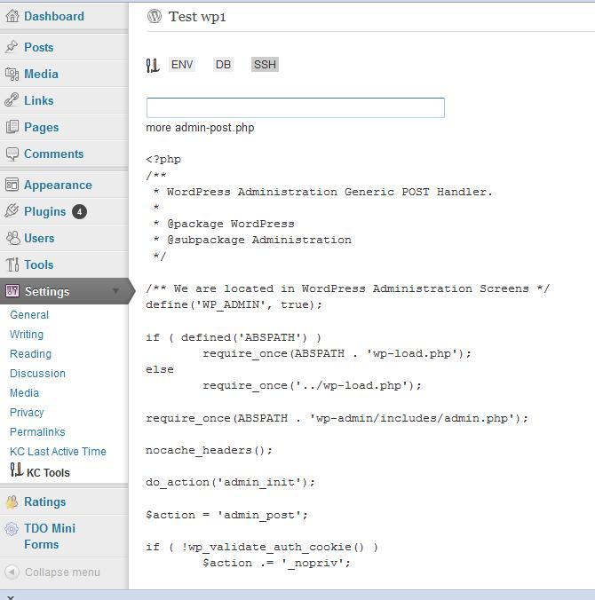 kctools_SSH